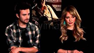 Hilary Duff and Reece Thompson (Bloodworth Interview)