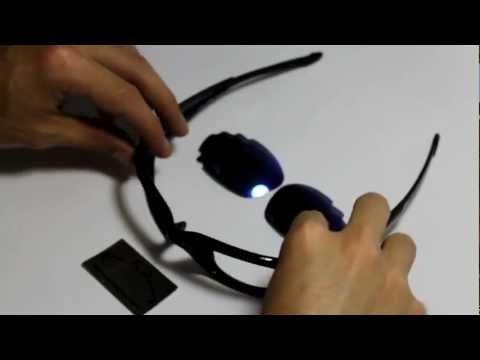 Lenses Installation Video For Oakley Straight Jacket Sunglasses