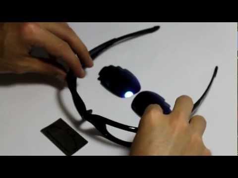 Lenses Installation Video For Oakley Straight Jacket Sunglasses
