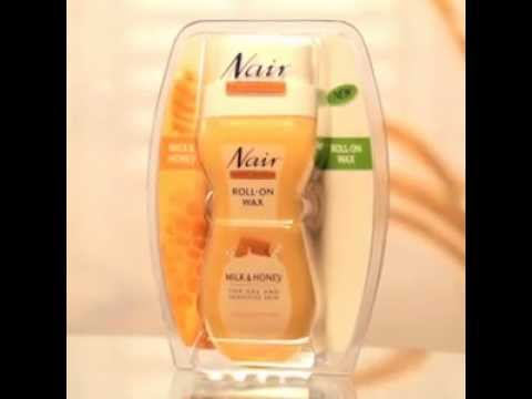 NAIR Demo Video - Milk and Honey Roll On Wax