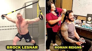 10 Surprising Things WWE Wrestlers Do Backstage Before Matches - Roman Reigns, Brock Lesnar & more