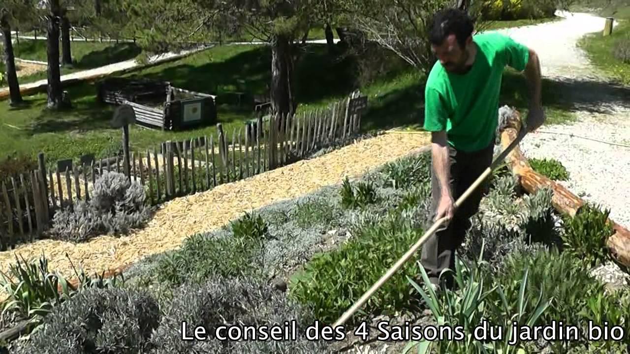 nettoyer les plates bandes les 4 saisons du jardin bio
