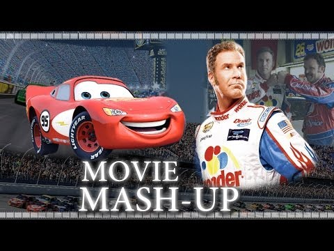 Talladega Nights / Cars Trailer - Mash-Up Re-Cut