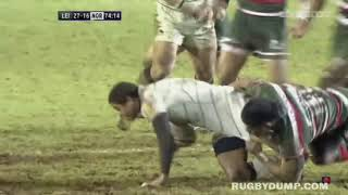 Rugby's PERFECTLY Timed BRUTAL Tackles!