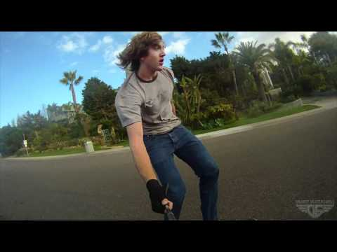 Gravity Skateboards - Robbie Lyons - A Hill and A GoPro
