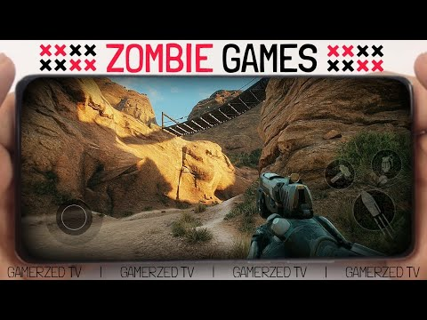 TOP 10 🔥 BEST ZOMBIE GAMES FOR ANDROID/IOS IN 2021 (OFFLINE/ONLINE)