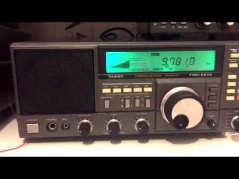 Early evening African shortwave: Afia Darfur 9780 KHz Botswana