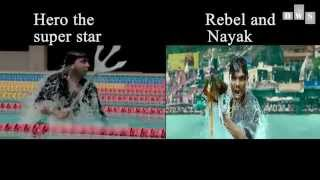Originality: Copy and Paste from Rebel and Nayak to Hero the super star  by Shakib Khan