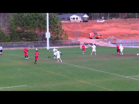 Greater Atlanta Christian School Varsity Mens Lacrosse vs The Wesleyan School, 2013