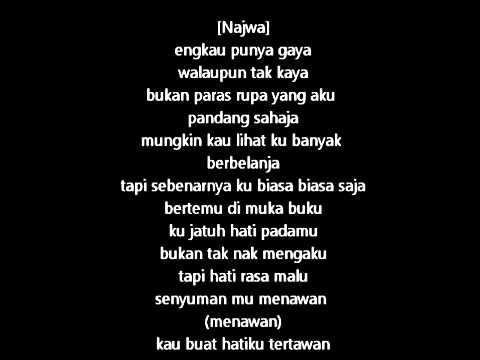 Sleeq Ft Najwa Latif-untuk Dia (lyrics) video