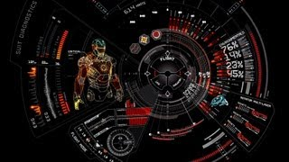 Interfaz Hud Iron Man-Skin Rainmeter