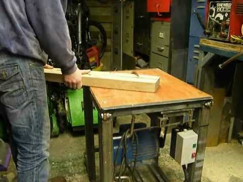 home made table saw. 10
