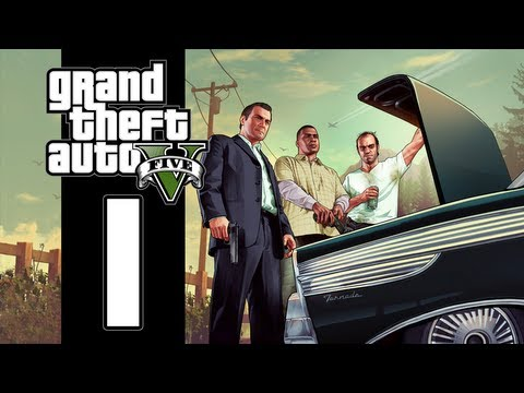 Let's Play GTA V (GTA 5) - EP01 - Sticky Situations