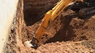 Hyundai 290 lc-7A Ekskavatör Hafriyat yüklemesi Excavation Loading