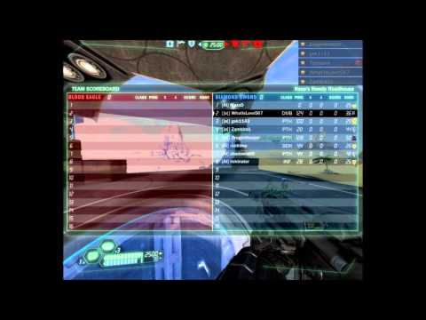 Tribes Ascend : Artificial Intelligence vs []o[] 4v4 scrim HoF PoV