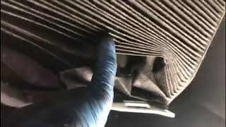 How to replace pollen|cabin filter VW TOURAN Full HD