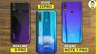 vivo Z1Pro vs Realme 3 Pro vs Redmi Note 7 Pro: the ultimate camera comparison!