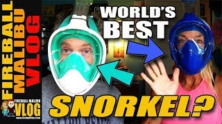 Is This Easy Snorkel the World's Best Snorkel? – Fireball Malibu Vlog 710
