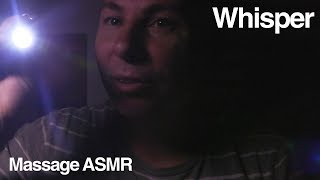 ASMR Whisper Roleplay Lights Out - Ear to Ear Sounds