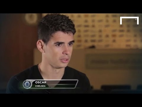 Hazard is the best in England - Oscar
