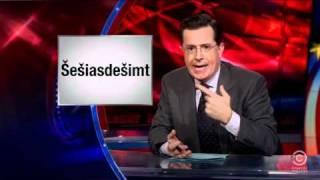 Stephen Colbert vs Lithuania