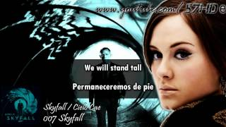 Skyfall - Adele - Skyfall HD Lyric Video Subtitulado Español English Lyrics