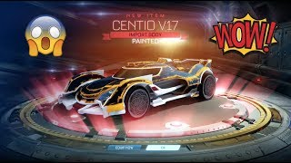 TOP 5 BEST OVERDRIVE CRATE OPENINGS EVER!! PAINTED CENTIO V17 EDITION!! MUST WATCH!!