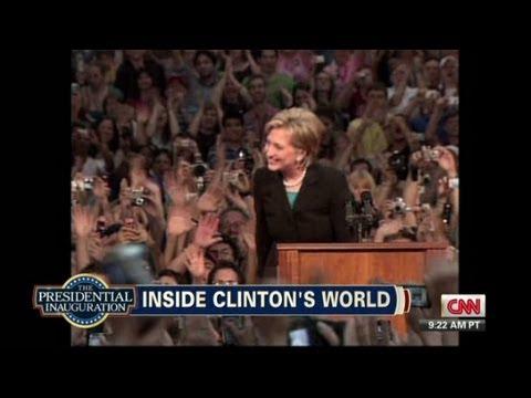 Inside Hillary Clinton's world