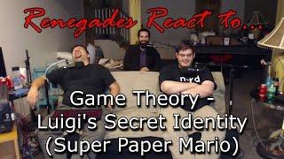 Renegades React to... Game Theory: Luigi's Secret Identity (Super Paper Mario)