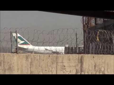 Cathay Pacific Cargo Boeing 747 & JetKonnect Boeing 737 at Mumbai Airport
