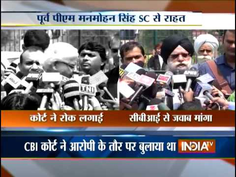 Supreme Court stays summons to Manmohan Singh in coal scam case