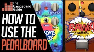 GarageBand PedalBoard Tutorial For Beginners