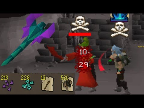 Rev Cave Buff is BANK LOOT (Max Pure vs Wildy)
