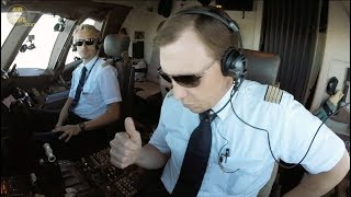 Boeing 777F Captain Rikard & Crew ARE BACK! ULTIMATE COCKPIT MOVIE #3 [AirClips full flight series]