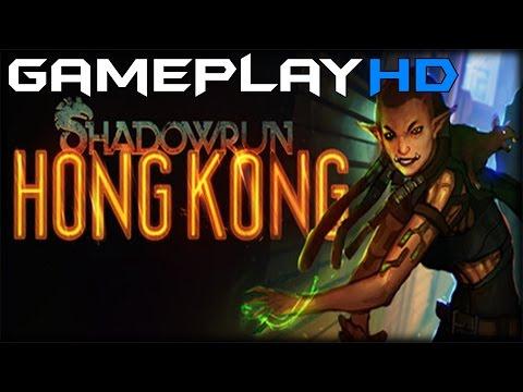 Shadowrun: Hong Kong Gameplay (PC HD) [1080p]