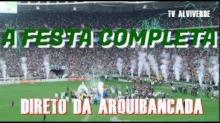 A FESTA COMPLETA DIRETO DA ARQUIBANCADA - PALMEIRAS 3 X 2 Vitória
