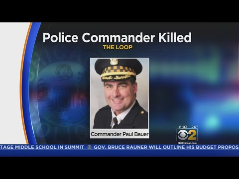 Chicago Mourns Slaying Of Police Commander; 'A Gut Punch To The City'