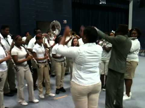 "Moss Point High School Band 2013 ""Square Biz"""