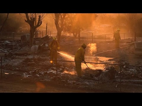 "California: Fires Burn at ""Exponential Rates"" Amid Blistering Heat Wave and 5-Year Drought"