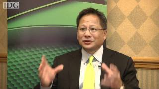 Raw video: Nvidia's CEO on CUDA in mobile devices