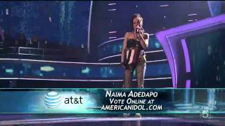 Naima Adedapo - Umbrella - American Idol Top 13 - 03/09/11