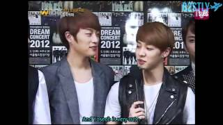 [B2STLYSUBS] 120514 Mnet Wide Dream Concert Interview