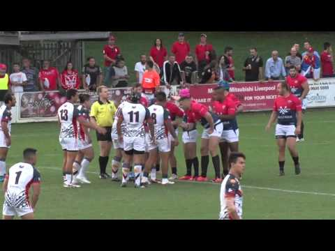 Serbia Vs Philippines Rugby League - 5th February 2016 1st Half