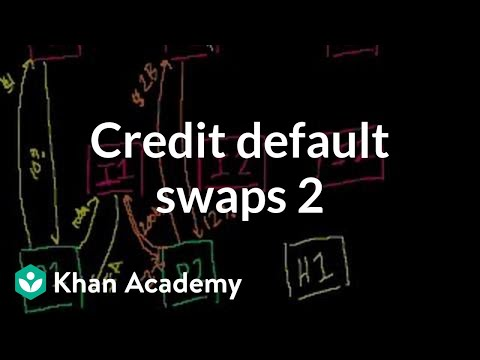 Credit default swaps 2 | Finance & Capital Markets | Khan Academy