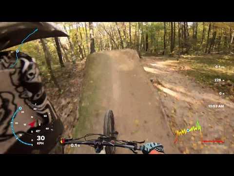 Life ride / Nałęczów / Leśny kocur / gopro7black [4K] / stabilizacja hypersmooth / GPS speedomater