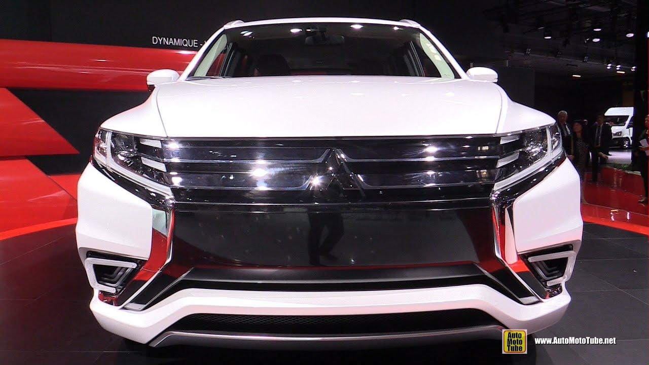2015 Mitsubishi Outlander PHEV Concept S - Exterior and Interior Walkaround - 2014 Paris Auto ...