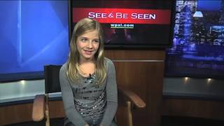 WPXI - Jackie Evancho talks new album, Robert Redford movie, modeling
