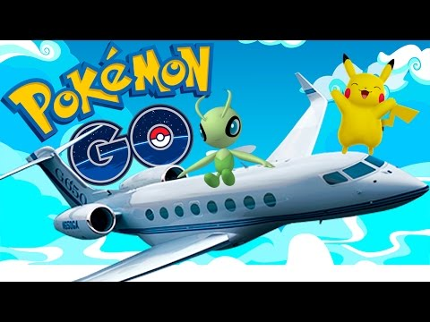 РЕДКИЕ ПОКЕМОНЫ В САМОЛЕТЕ ★ POKEMON GO