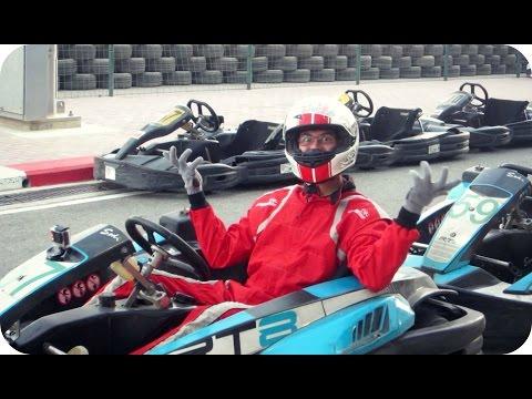 GOPRO KARTING DISASTER | Bahrain International Karting Circuit (Daily Vlog 399)