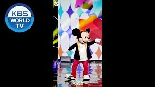 Focused Mickey Mouse Wjsn It 39 S A Good Time Music Bank 2018 11 30